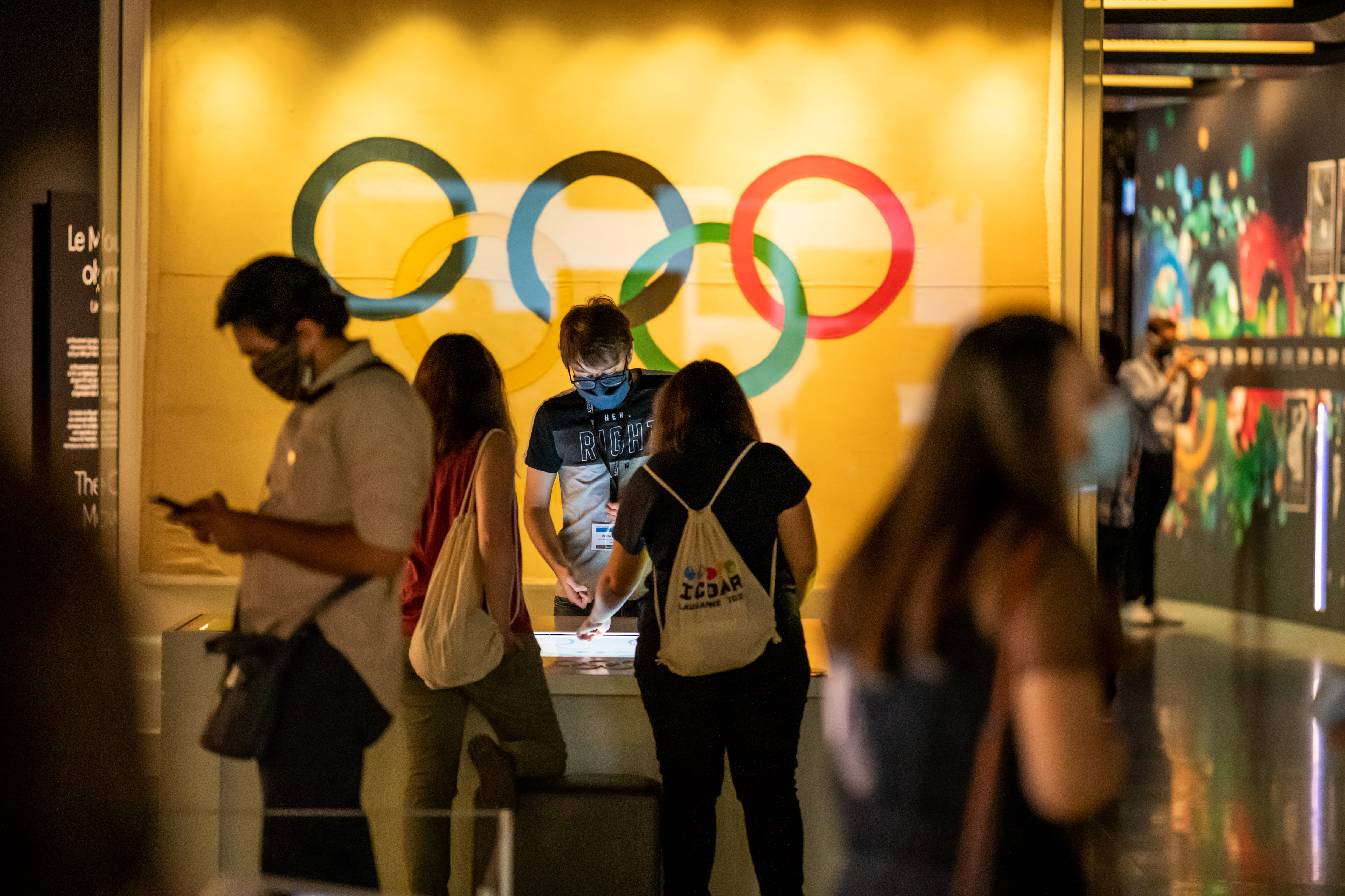 olympic museum inside